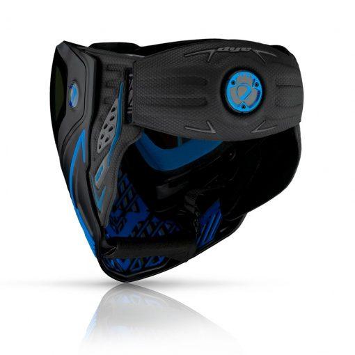 Paintball Online- Sua Loja de Paintball na Internet- Máscara Dye i5 - Storm 2.0 - Lente Bronze Fire